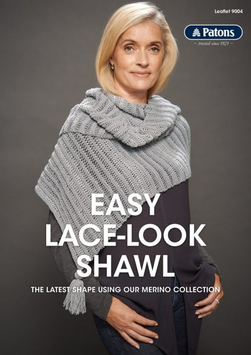 Patons Easy Lace Look Shawl