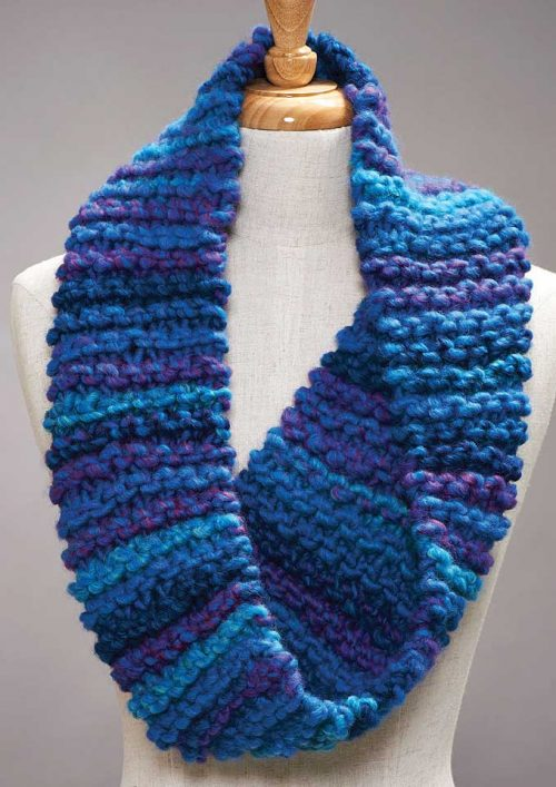 Patons Gigante Garter Stitch Cowl