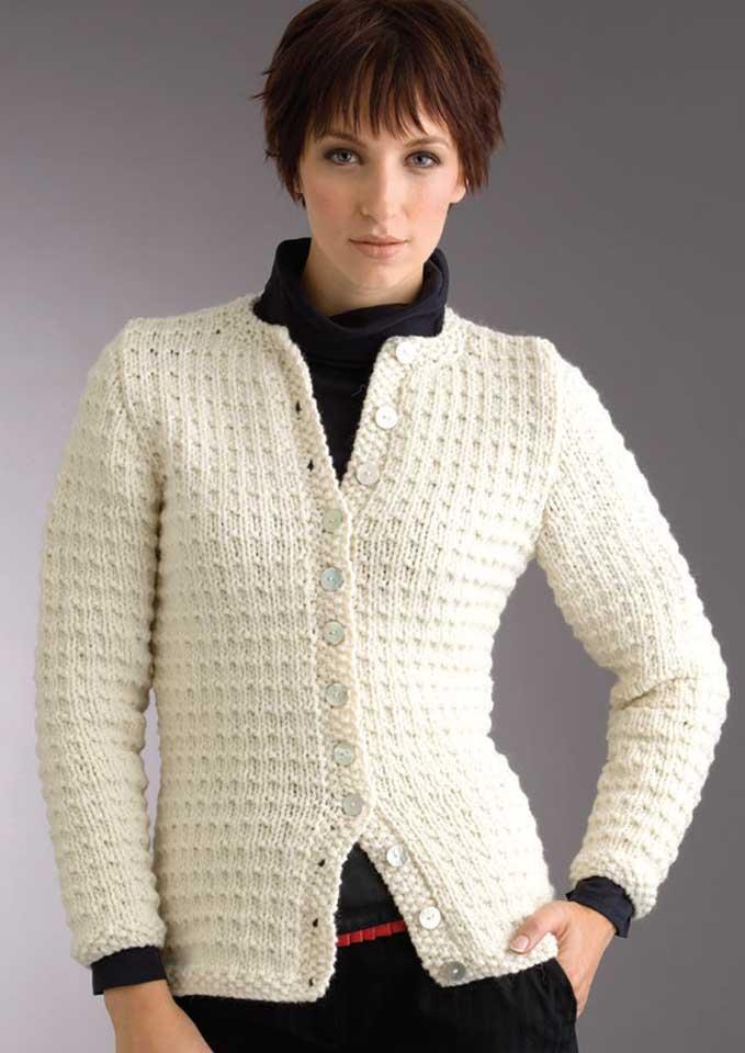 Patons Inca Textured Cardigan