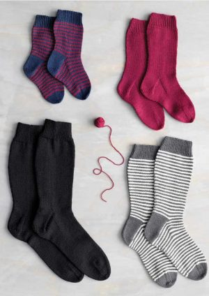 Patons Paytonyle 4 Ply Family Socks in Three Lengths