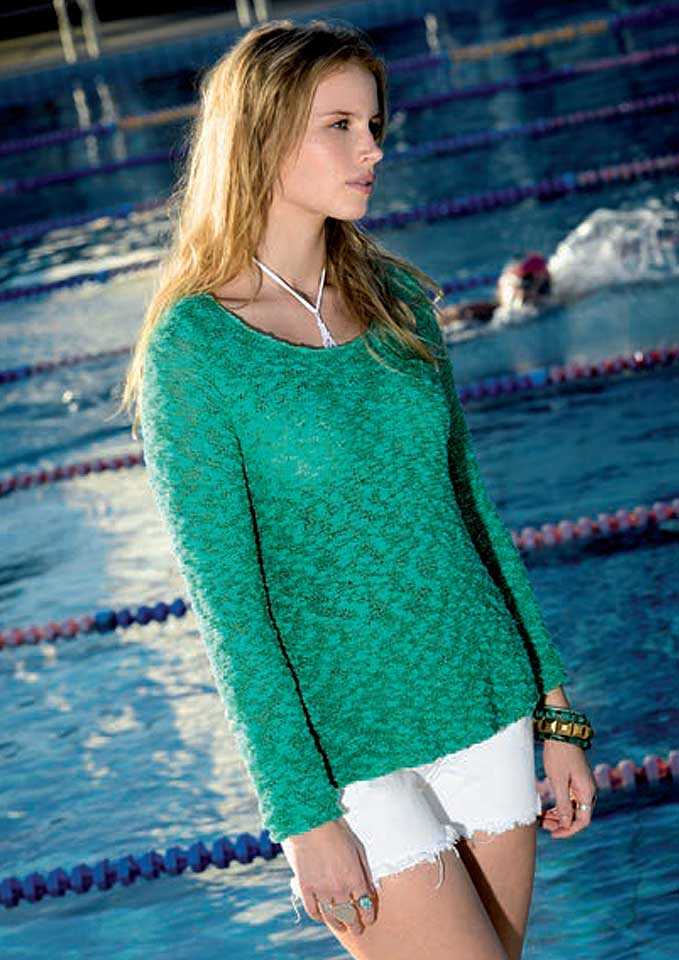Patons Sorrento Long Sleeve Top
