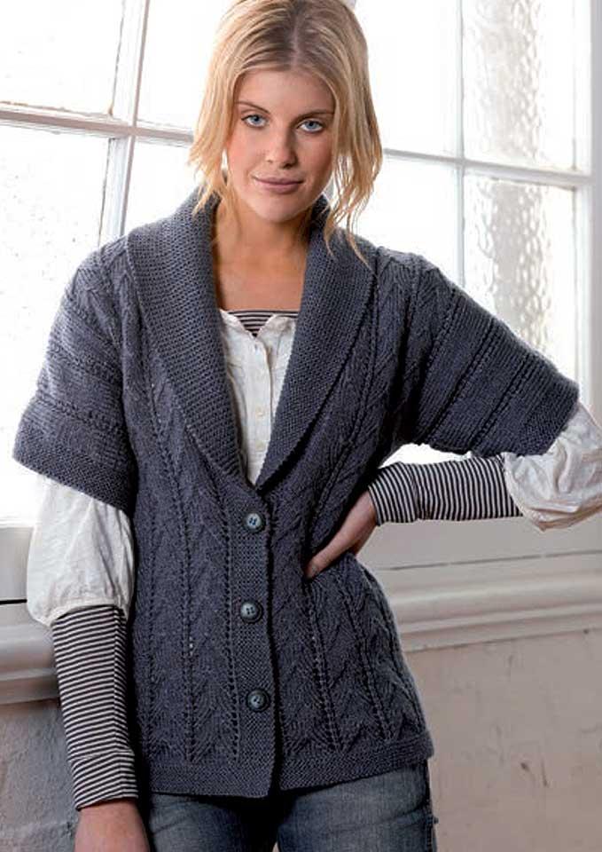Patons Zhivago Textured Kimono Jacket