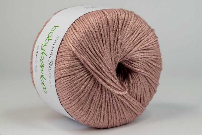 Snuggly Baby Bamboo Pink Linen