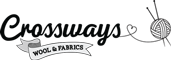 Crossways Wool & Fabrics Logo