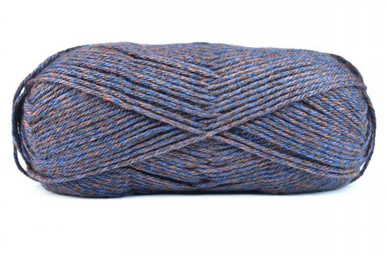 Fiddlesticks Superb Tweed Cobalt Brown
