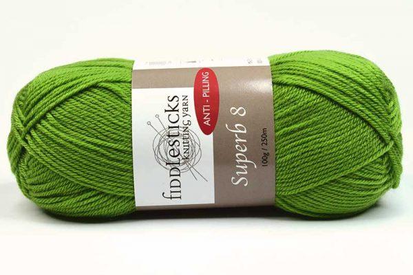 Fiddlesticks Supurb 8 ply Bright Green