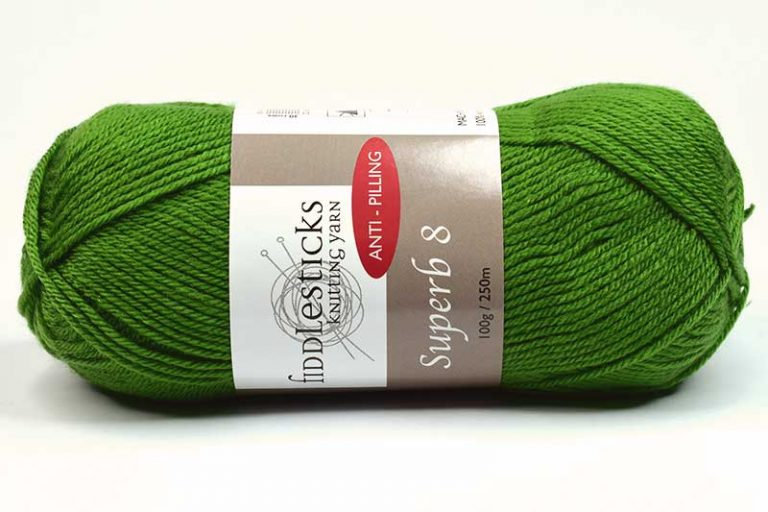 Fiddlesticks Supurb 8 ply Green