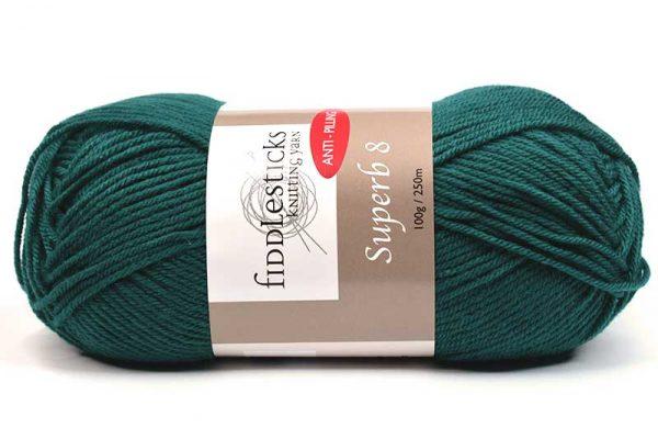 Fiddlesticks Supurb 8 ply Sea Green