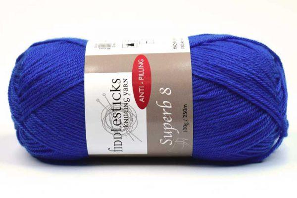 Fiddlesticks Supurb 8 ply Blue