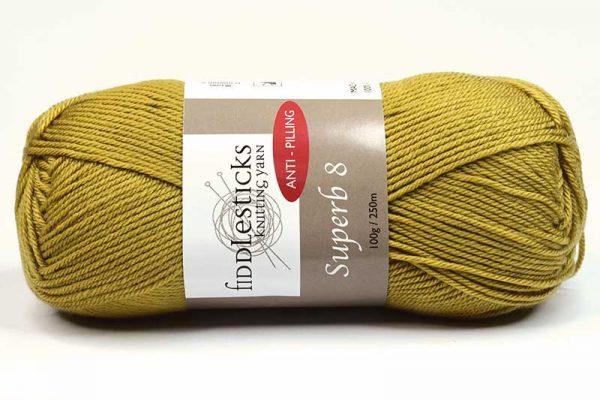 Fiddlesticks Supurb 8 ply Tan