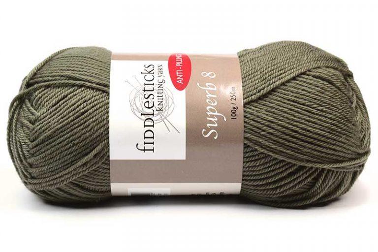 Fiddlesticks Supurb 8 ply Stone