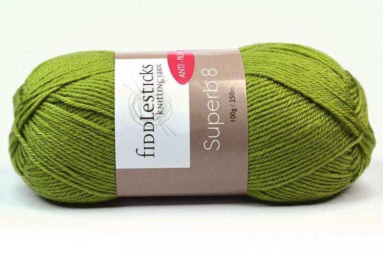 Fiddlesticks Supurb 8 ply Leaf Green