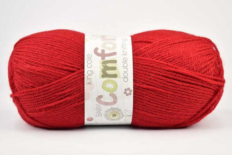 King Cole Comfort Red