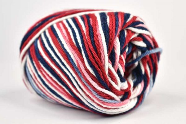 Lily Sugar n Cream Ombre Red-White-Blue